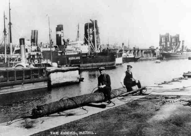 Methil Docks 1920s
