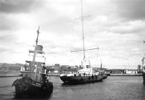 Radio Scotland in Methil Dock